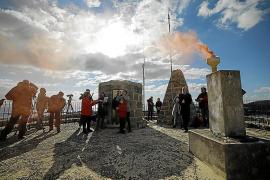 Ibiza se suma por primera vez a la iniciativa 'Atalayas por los derechos humanos'