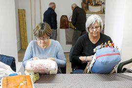Los artesanos de Portmany mantienen viva la tradición en el Molí d'en Simó
