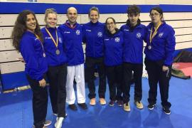 Cristina Ferrer revalida el título nacional de karate