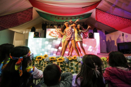 La Flower Power infantil más esperada del año, en imágenes (Fotos: Arguiñe Escandón)