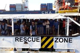 El Gobierno impide a Open Arms salir del puerto de Barcelona a una misión de rescate