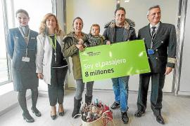 El aeropuerto de Ibiza cierra un 2018 «histórico» con 8,1 millones de pasajeros