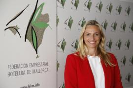 María Frontera, presidenta de la Federación Hotelera de Mallorca