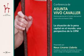 Conferencia - 'La situación de la pena capital en el mundo, una perspectiva de la CIPM'