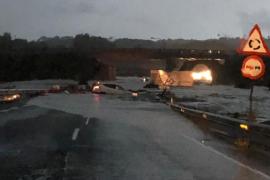 Una veintena de carencias complicó la labor de Emergencias en las inundaciones en Mallorca
