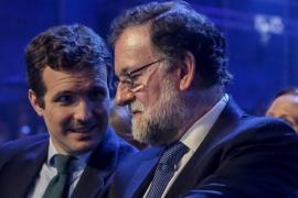 Rajoy reivindica su legado ante Casado y pide huir de sectarismos
