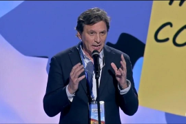 Mateo Isern habla en la convención nacional del PP