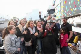 Multitudinario campeonato del mundo de 'arròs de matances' en Sant Antoni