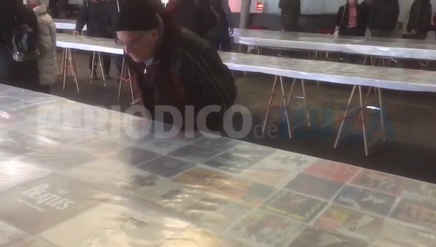 La pasión por el vinilo llega a Sant Antoni por la Feria del Disc