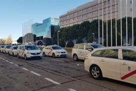 Taxistas de Madrid cifran un seguimiento del 100% de la huelga