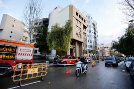 La Policía Nacional investiga el origen y posible intencionalidad del fuego que arrasó dos plantas del juzgado de Ibiza