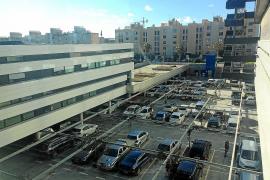 La ocupación del aparcamiento gratis de Can Misses llega al 84% por las mañanas