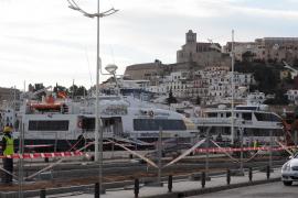 Reabren el puerto de la Savina, cerrado durante dos horas por el mal tiempo