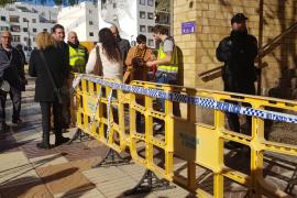 El TSJIB pide la suspensión de actuaciones y plazos en el juzgado incendiado de Ibiza