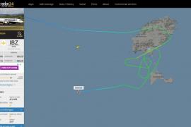 Dos vuelos abortan el aterrizaje en Ibiza debido a las fuertes rachas de viento