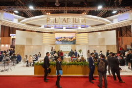 Palladium Hotel Group recibe el premio al mejor estand de Fitur 2019