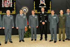 Toma de posesión del nuevo coronel de la Guardia Civil