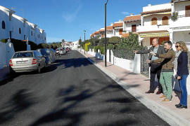 Finalizan las obras de mejora de la accesibilidad en Cala Martina