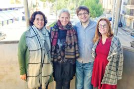 Maria Antonia Sancho, Alice Weber, Biel Frontera y Nuria Nadal