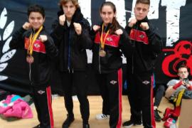 El Club Budoka consigue cinco medallas en el Open de Salamanca