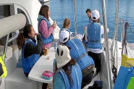 Los alumnos del CEIP Santa Eulària, los primeros en sumarse a la Setmana del Mar