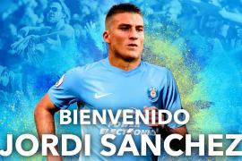 Jordi Sánchez, nuevo jugador de la UD Ibiza