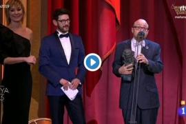 Vídeo | El emotivo discurso de Jesús Vidal, el actor revelación de 'Campeones'