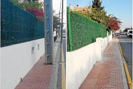 Finaliza el soterramiento de tendidos aéreos en dos calles de Puig d'en Valls