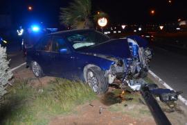El alcohol, causa de dos accidentes ocurridos en Ibiza este fin de semana