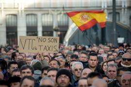 Los taxistas de Madrid se plantean dejar el paro