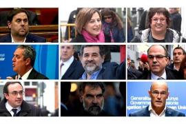 La defensa de Sánchez, Turull y Rull pide aplazar el juicio para estudiar las pruebas admitidas