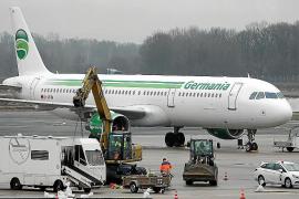 Avión de la compañía Germania