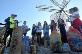 Alumnos de Primaria comprenden el riesgo de la contaminación marina a través del arte