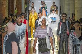 La nostalgia de Pablo Erroz traslada a la Fashion Week a la época de los yuppies