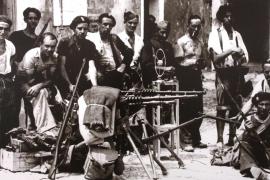 La exposición que repasa la historia de la radio en Ibiza, en imágenes .
