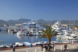 Ports IB lamenta el retraso de las obras del nuevo edificio en el puerto de Sant Antoni