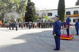 Relevo en el aeródromo militar de Pollença