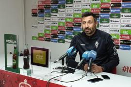 Manolo Herrero: «Puede que en este momento sea más fácil ganar al Ibiza»