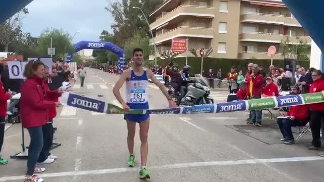 Marc Tur, campeón de España de 50 km marcha