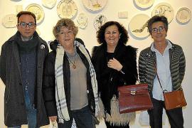 Inauguración de la exposición '3 Formes' en Inca