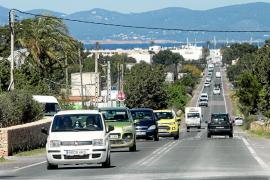 Una aplicación informática gestionará el techo de vehículos en Formentera