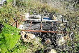 Se han recibido «infinidad» de denuncias por pozos abiertos en Santa Eulària