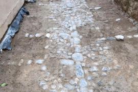 Aparecen restos de época medieval en Dalt Vila