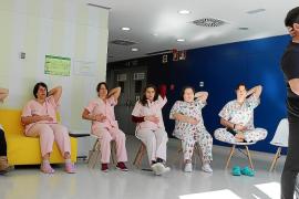 La iniciativa Eleven ofrece yoga a los pacientes y profesionales de Can Misses
