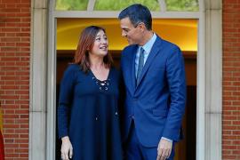 Armengol mete presión a Sánchez para que haya REB antes de que convoque elecciones