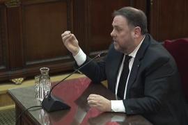 Junqueras se presenta como un preso político, niega delitos y hace un alegato a favor de la autodeterminación