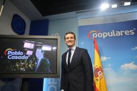 Casado afirma que los españoles tendrán que elegir entre «un modelo que negocie con Torra o que lidere la aplicación del 155»