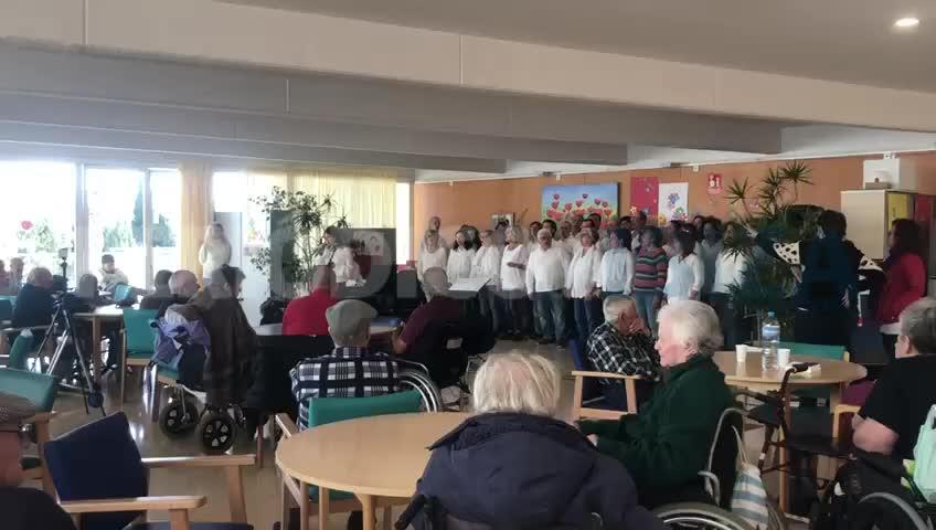 La residencia de Cas Serres, a ritmo de gospel