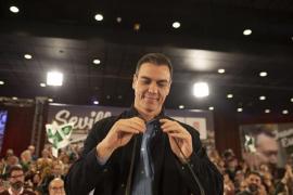 """Pedro Sánchez: """"Se palpa que tenemos ganas de votar"""""""