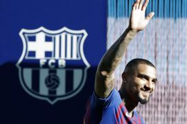 Roban en casa de Boateng durante el Barça-Valladolid